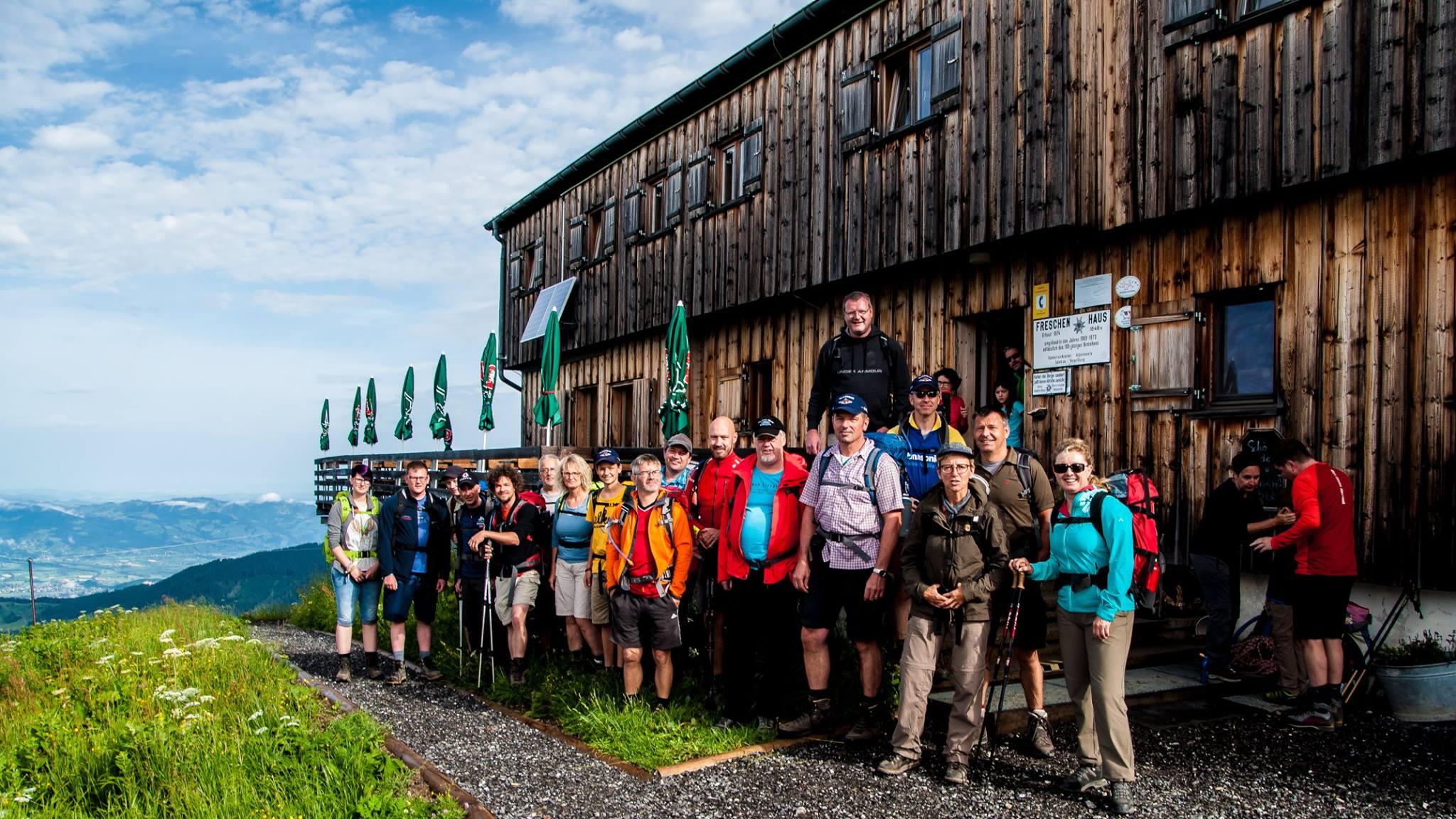 Bergfahrt 2017 Freschenhaus